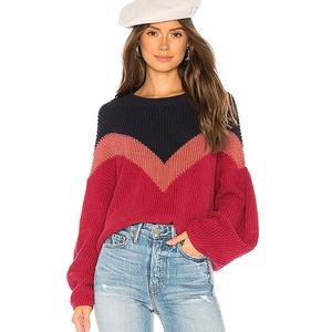 1. State Chevron Front Sweater, XS